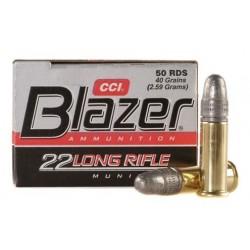 CCI Blazer Cartouches 22 Long Rifle