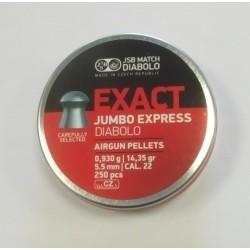 Plombs JSB MATCH Diabolo jumbo 5.5mm