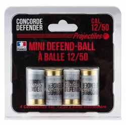 cartouches Mini Defend-Ball cal. 12/50 - Balles