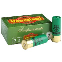 Cartouches Vouzelaud - Surpuissante - calibre 12/70