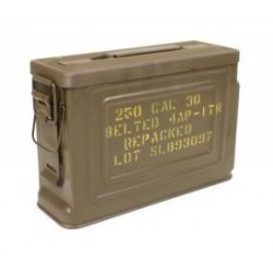 BOITE MUNITION TOLE US CAL .30 RECONDITIONNÉE