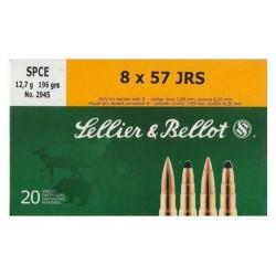 Cartouche Sellier & Bellot 8X57 JRS SPC 12.7g