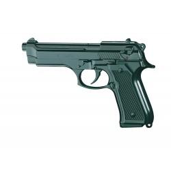 Pistolet à blanc et à gaz de défense, CHIAPPA 92 bronzé 9 mm, capacité chargeur 10 coups