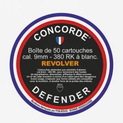 CARTOUCHE A BLANC CONCORDER  9 mm REVOLVER