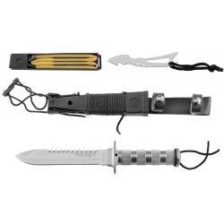 Couteau survie combat King