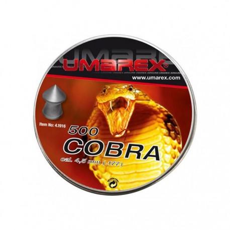 Boite Plombs pointu Cobra UMAREX