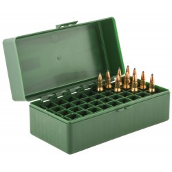 Boîte mégaline de rangement 50 munitions 222 / 223