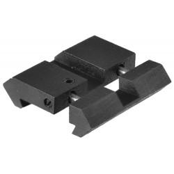 Lot de 2 adaptateurs pour rails 11mm-21mm