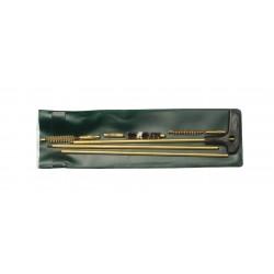 Trousse de nettoyage baguette laiton pour armes rayées Cal. 7 à 9 mm