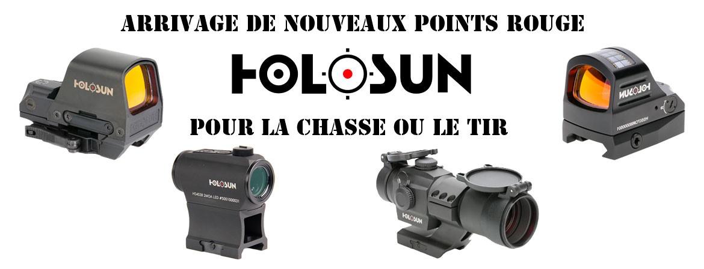 Arrivage de nouveaux points rouge Holosun